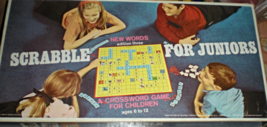 Scrabble For Juniors  Game- Edition Three -Board Game - $8.95