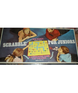 Scrabble For Juniors  Game- Edition Three -Board Game - $11.00