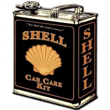 Shell Oil Can Plasma Cut Metal Sign - $26.95