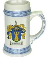 Casselman Coat of Arms Stein / Family Crest Tankard Mug - $21.99