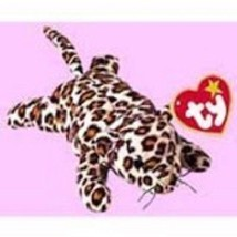 Ty Teenie B EAN Ie Babies 1999 Mc Donald's Happy Meal Freckles The Leopard Retired - $5.40