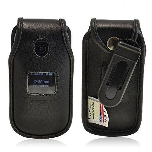 Turtleback LG Envoy 2 II un160 Executive Black Leather Case Phone Case with Ratc - $36.99