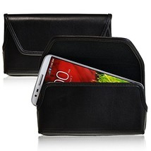 Turtleback Holster Made for LG G2 Black Belt Case Leather Pouch with Exe... - $36.99