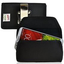 Turtleback LG G2 Ballistic Nylon Holster Pouch with Rotating Metal Belt ... - $29.99