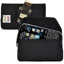 Turtleback Blackberry Classic Q20 Horizontal Phone Holster Pouch Belt Cl... - $29.99
