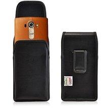 Turtleback Holster Made for LG G4 Black Vertical Belt Case Leather Pouch... - $36.99