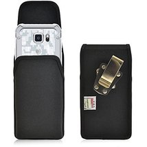 Turtleback Belt Clip Case Made for Samsung Galaxy S6 Active Black Vertic... - $36.99