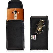 Turtleback Belt Case Compatible with LG G4 Black Vertical Holster Leathe... - $29.99
