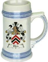 Ellers Coat of Arms Stein / Family Crest Tankard Mug - $21.99