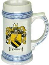 Ettleman Coat of Arms Stein / Family Crest Tankard Mug - $21.99