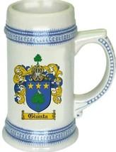 Giunta Coat of Arms Stein / Family Crest Tankard Mug - $21.99