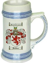 Hulton Coat of Arms Stein / Family Crest Tankard Mug - $21.99