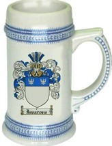 Iavarone Coat of Arms Stein / Family Crest Tankard Mug - $21.99