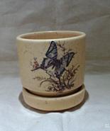 Set of two Vintage Stoneware  Planters Small Planters Succulent Planter - $14.00