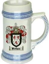 Kirkham Coat of Arms Stein / Family Crest Tankard Mug - $21.99