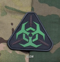 OUTBREAK RESPONSE TEAM GLOW TACTICAL BADGE MORALE PVC VELCRO MILITARY PATCH - $8.99