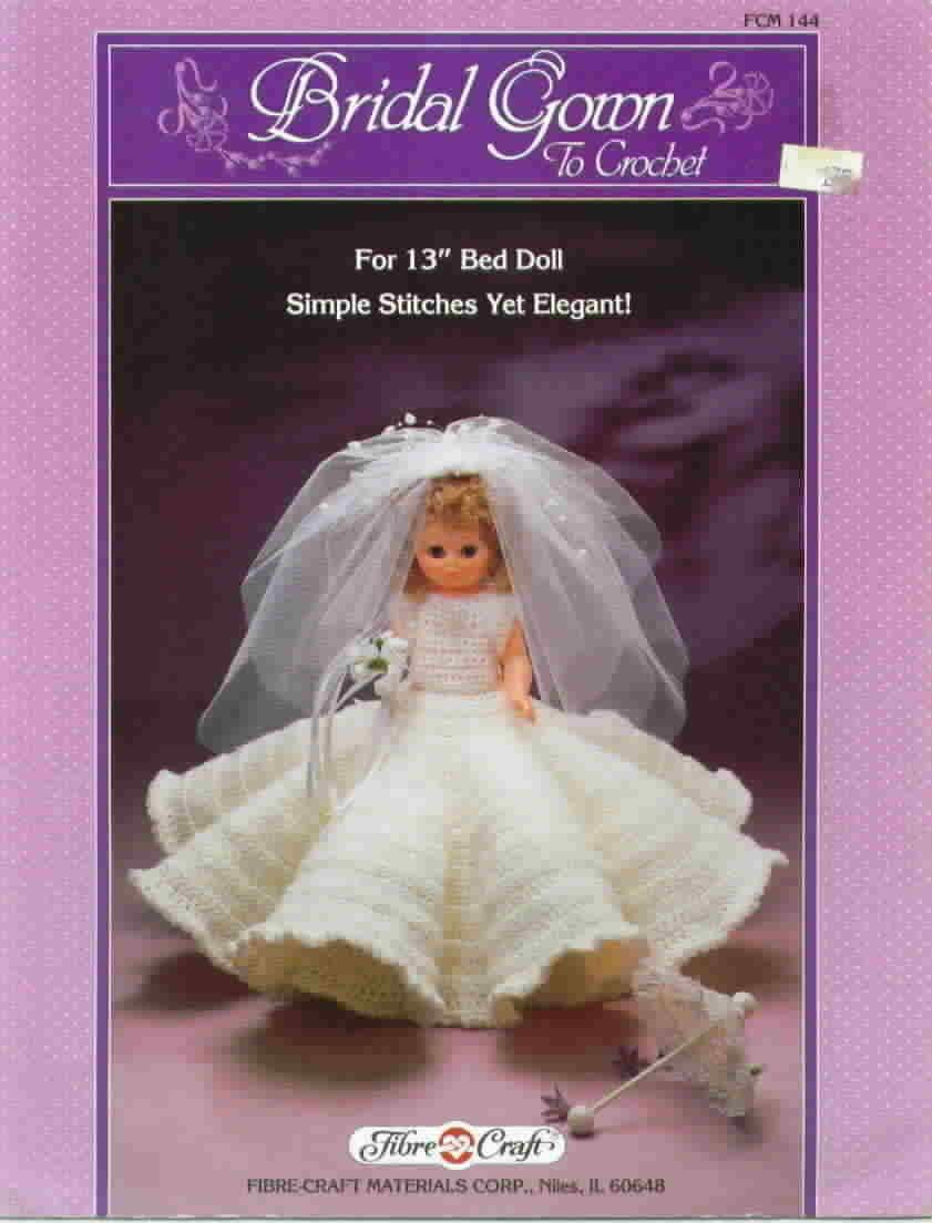 Fibre craft bridal gown