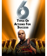 6 Types of Actions for Success by Stephen Pierce - $0.00