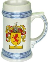 Lee Coat of Arms Stein / Family Crest Tankard Mug - $21.99