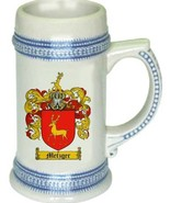 Metzger Coat of Arms Stein / Family Crest Tankard Mug - $21.99