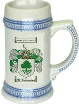 O'Connores Coat of Arms Stein / Family Crest Tankard Mug - $21.99
