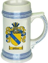 Officer Coat of Arms Stein / Family Crest Tankard Mug - $21.99