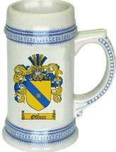 Officer Coat of Arms Stein / Family Crest Tankard Mug - $21.99