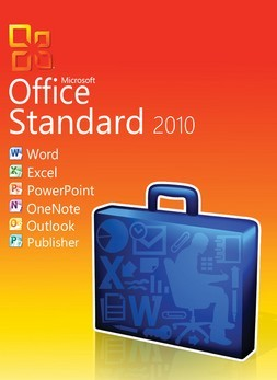 microsoft office standard 2010 3pc new genuine. Black Bedroom Furniture Sets. Home Design Ideas