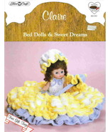 Fibre Craft Claire Bed Dolls and Sweet Dreams - $6.89