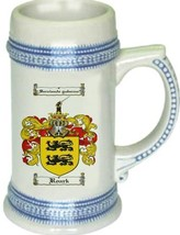 Roark Coat of Arms Stein / Family Crest Tankard Mug - $21.99