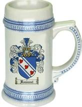 Rumenel Coat of Arms Stein / Family Crest Tankard Mug - $21.99