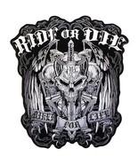 "RIDE OR DIE ""BIKER FOR LIFE"" MILITARY VET/BIKER PATCH - $10.99"