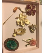 LOT OF 7 ~BROOCHES! - $49.49
