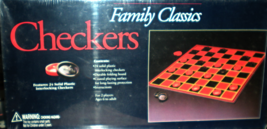 Checkers Game - Board Game - $8.90
