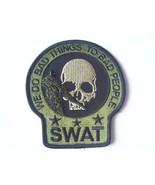 SWAT SNIPER DEATH SKULL PATCH (OD GREEN) - $10.99