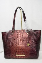 RARE! NWT Brahmin Tori Tote in Ember Melbourne. Croc Embossed Leather - $449.00