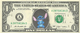 STITCH Disney on REAL Dollar Bill Cash Money Bank Note Currency Dinero - $6.66