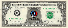 PRIMERICA Financial Services Company On Real Dollar Bill Cash Money Bank Note - $6.66