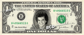 CONWAY TWITTY on REAL Dollar Bill Cash Money Bank Note Currency Dinero C... - $4.44