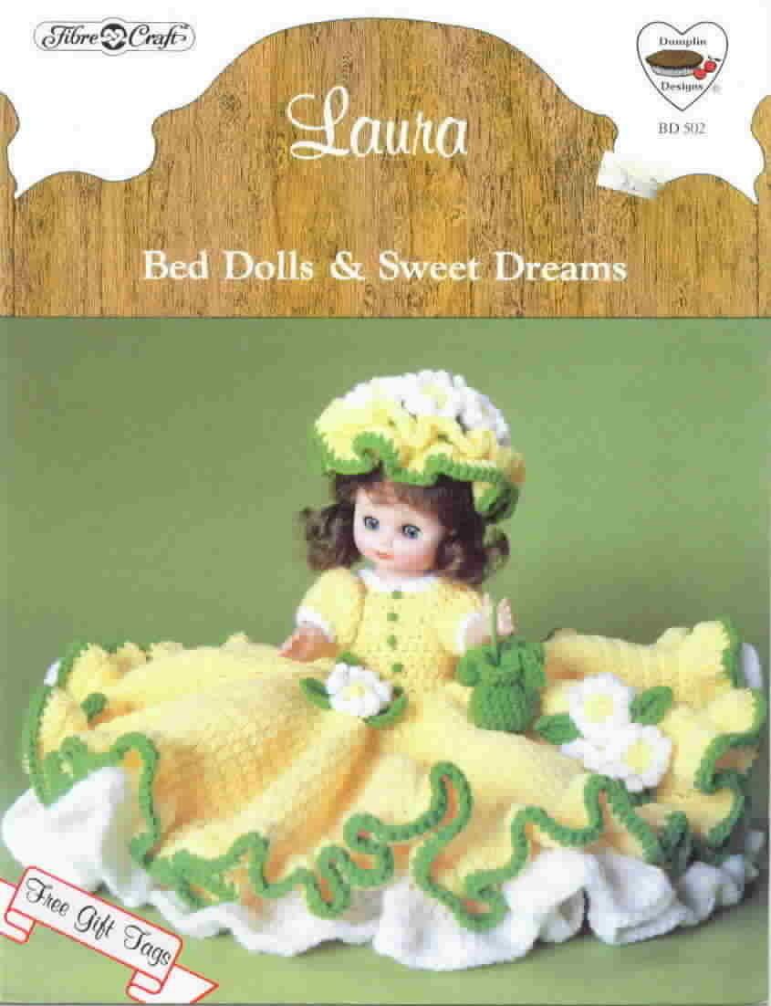 Fibre craft laura bed doll