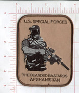 U.S. SPECIAL FORCES THE BEARDED BASTARDS AFGHANISTAN - MILITARY MORALE P... - $10.99