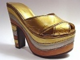 Magnetic Allure Stacked Metallic Platform 16th Cntry Venice Just the Rig... - $24.99