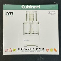 Cuisinart Pro Classic 7 & 11 Cup DLC-10S How-To DVD 1 Hour - $9.89