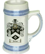 Arcus Coat of Arms Stein / Family Crest Tankard Mug - $21.99