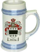 Atteridge Coat of Arms Stein / Family Crest Tankard Mug - $21.99