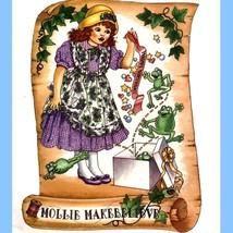 395 Girls Designer Dress & Pinafore 2 3 4 5 6 Vintage Diane David Patter... - $6.95