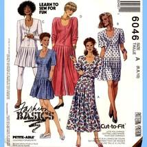 409 Womens Dress Jumpsuit Tunic sz 6 8 10 Vintage Sew Pattern Uncut McCa... - $6.95