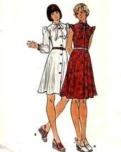170 WOMENS VINTAGE DRESS PATTERN, FLARED SKIRT, size 10, SEWING PATTERN - $6.95