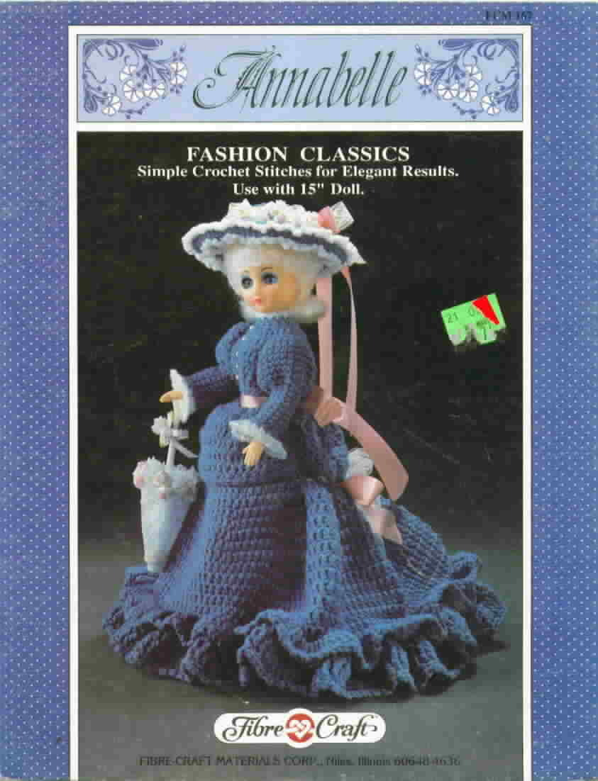 Fibre Craft Annabelle Fashion Classics to Crochet Fibre Craft