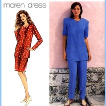 152 Womens Maren Dress Pattern, Top Skirt Pants sz 6 8 10 Sewing Pattern... - $5.95
